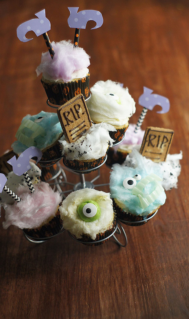 sony dsc save print fun halloween cupcakes