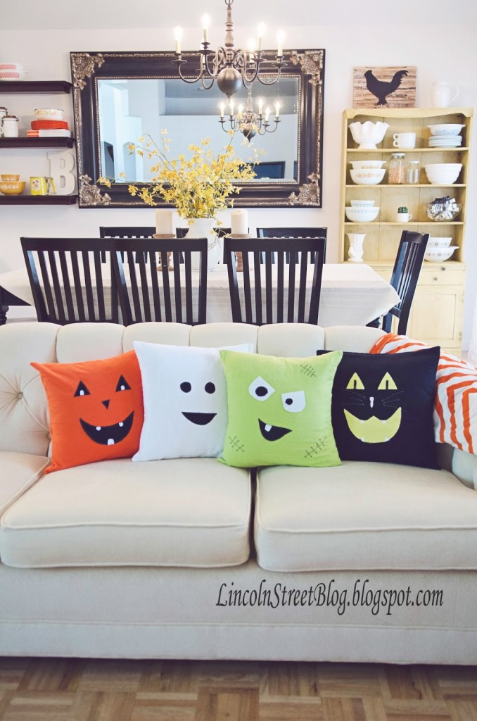 Halloween Felt Pillows