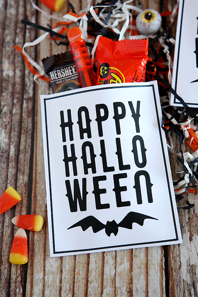 happy halloween treat bags