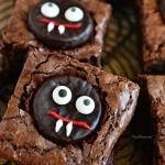 Mint Vampire Brownies