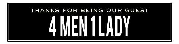 ss 4 men 1 lady