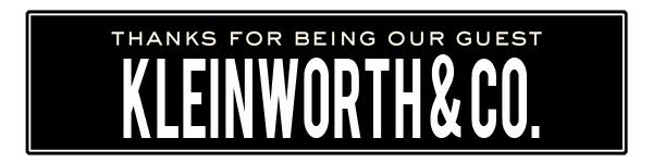 ss kleinworth co
