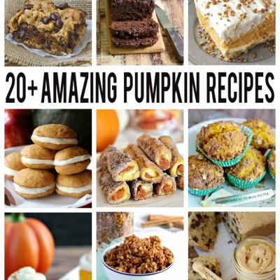 Over 20 Amazing Pumpkin Recipes