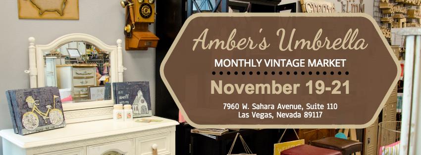 Amber's Umbrella november market