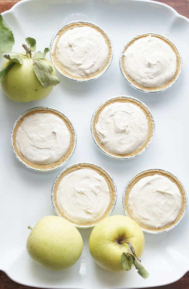 Mini Caramel Apple Cheesecakes. So good!