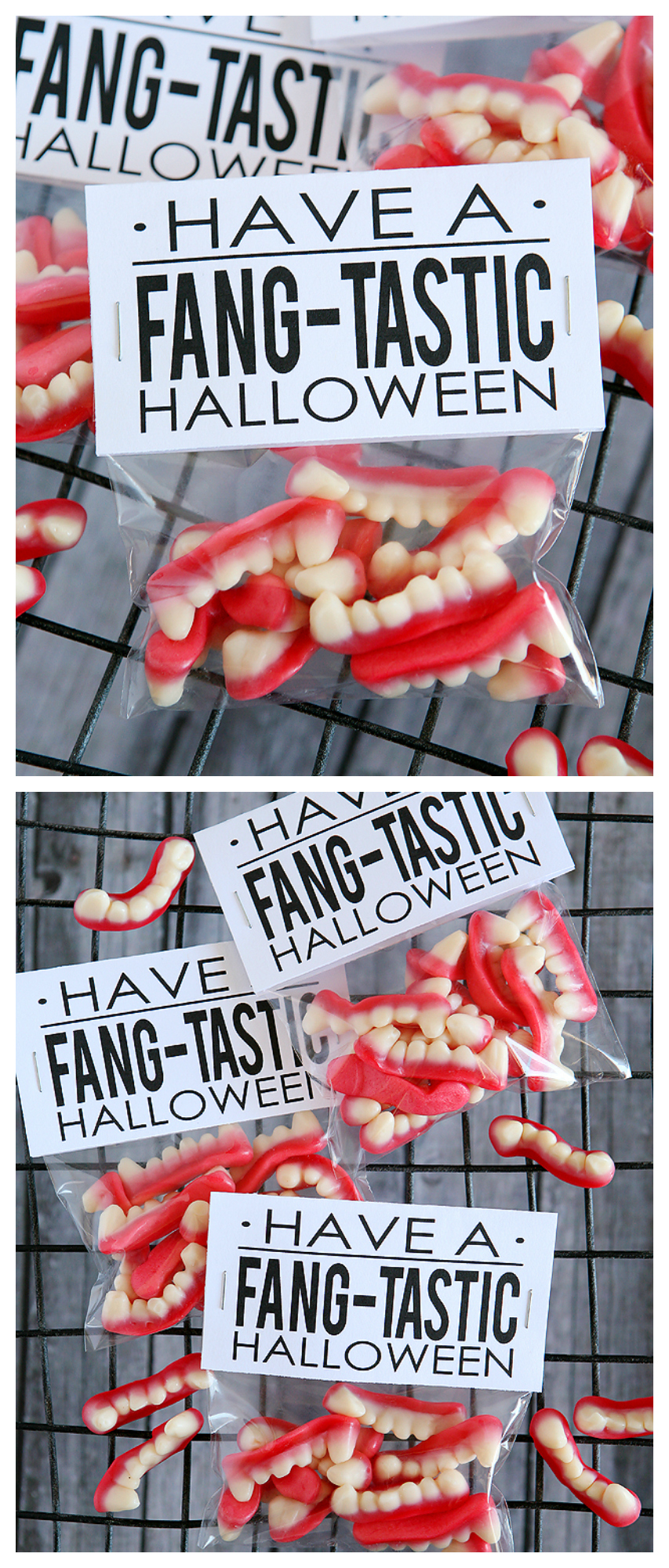 Have a Fang-tastic Halloween | Free halloween printables!