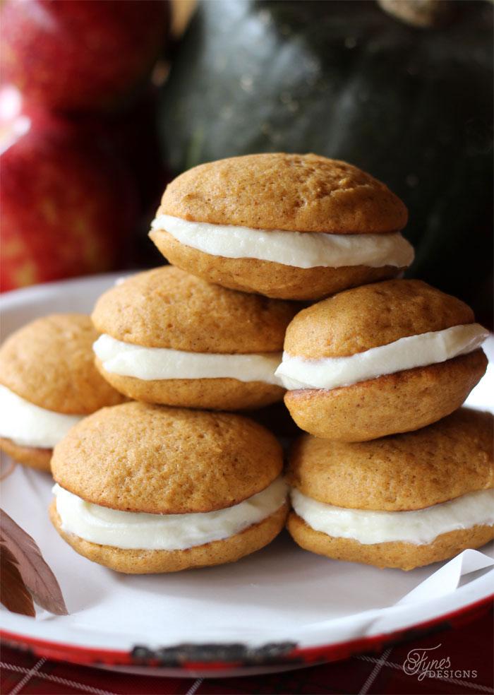 p pumpkin-pie-cookies
