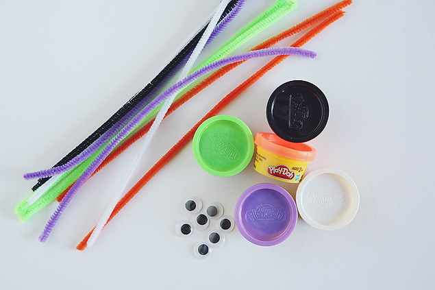 play doh spider supply list