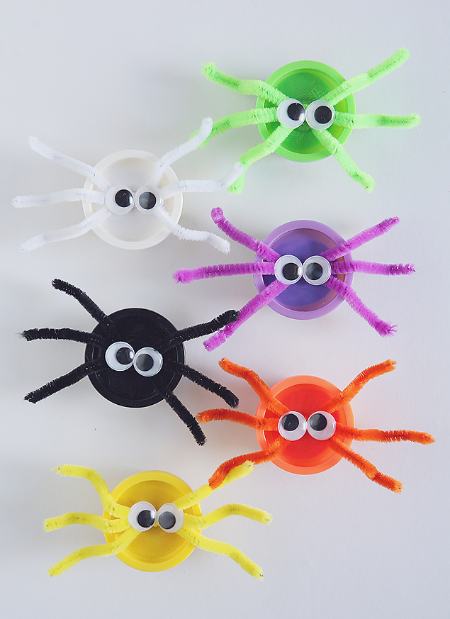 play doh spiders