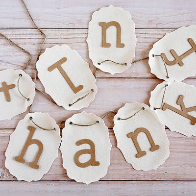 The Five Minute Thankful Banner