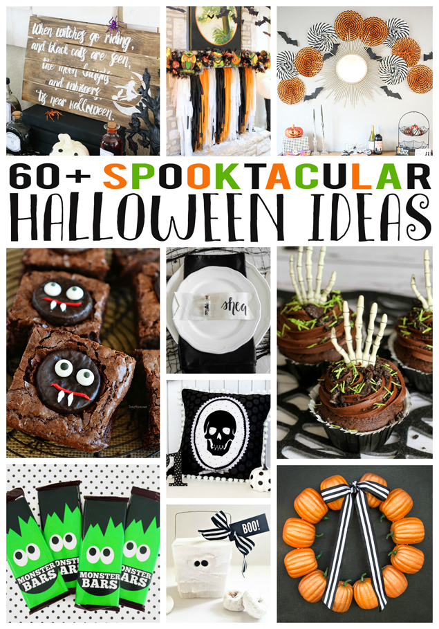 Over 60 Spooktacular Halloween projects and ideas!