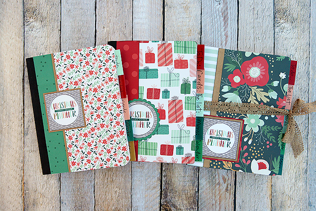 Christmas planners 2015