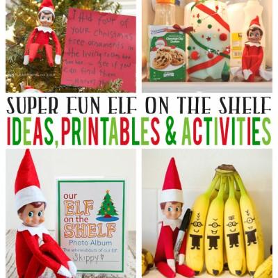 Elf On The Shelf Printables, Ideas & Activities