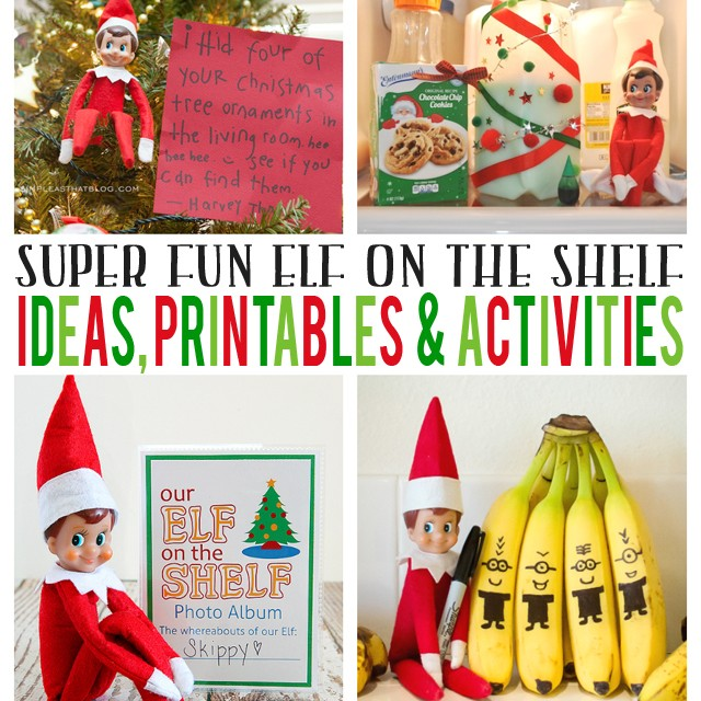 Elf On The Shelf Printables Ideas And Activities Eighteen25
