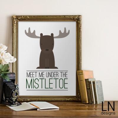 Free Winter Themed Prints