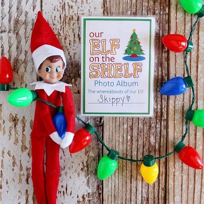 DIY Elf On The Shelf Photo Album