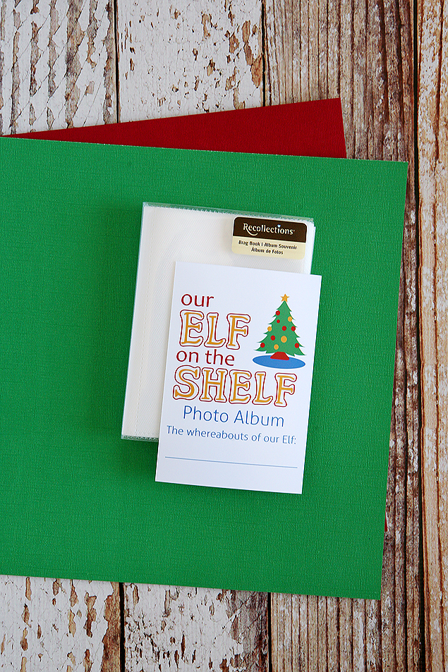 Elf on the shelf photo album supplies