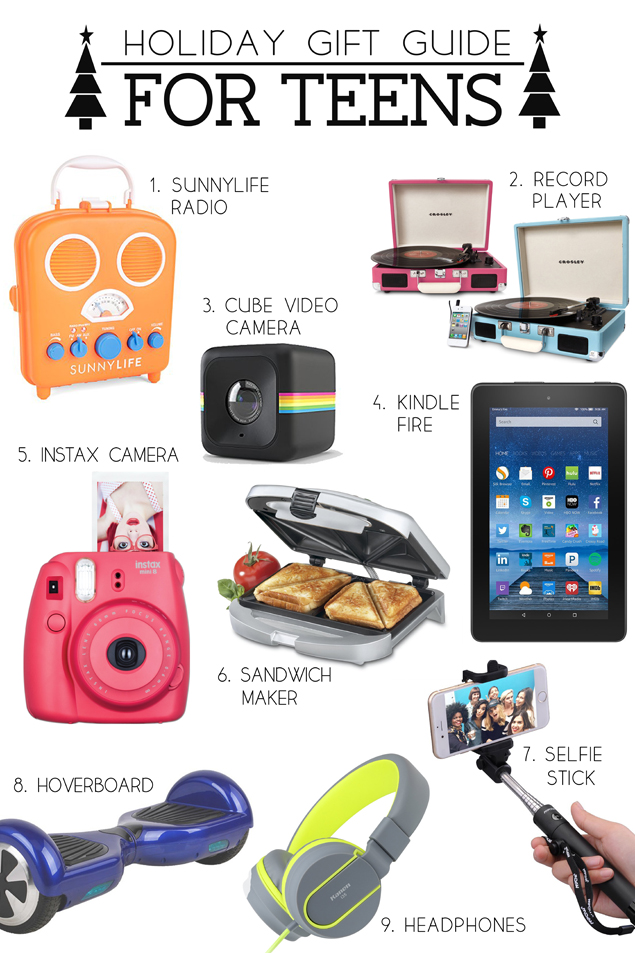 Holiday Gift Guide for Teens - Eighteen25