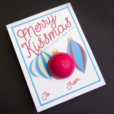 Merry Kissmas Lip Balm Gift