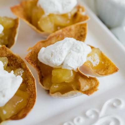 Skinny Mini Apple Pies