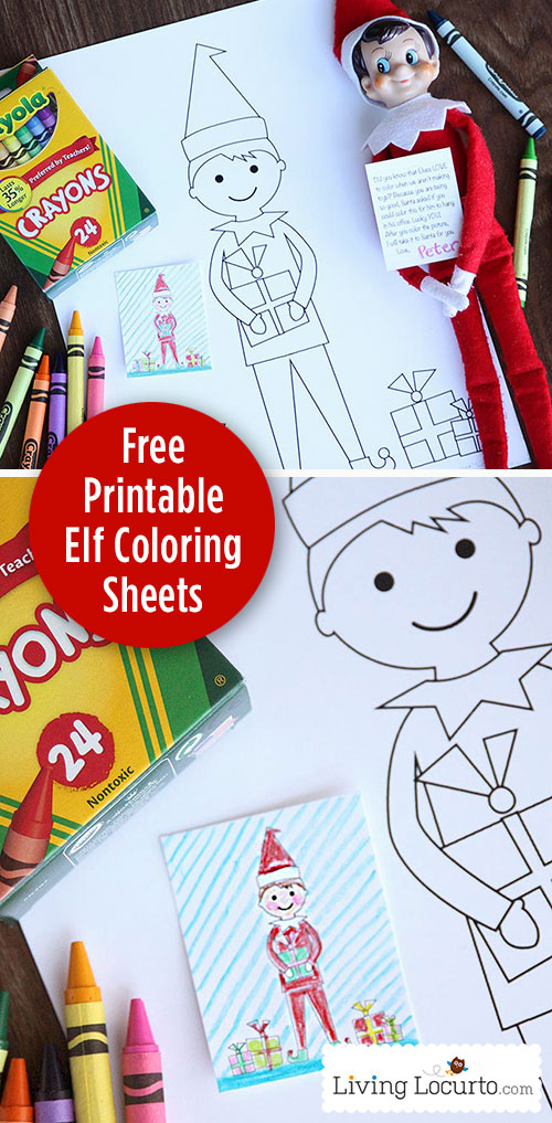 elf Elf-Coloring-Sheet-Free-Printable