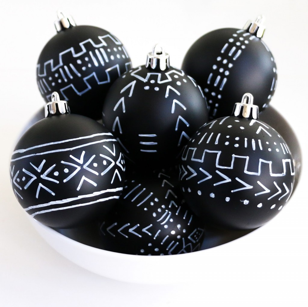 Mud Cloth Ornaments - bowl
