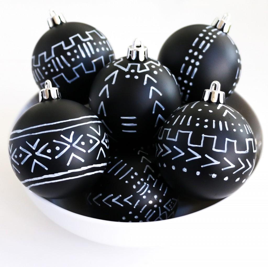 Mud Cloth Ornaments - bowl