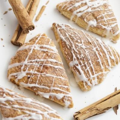 Delicious Cinnamon Scones