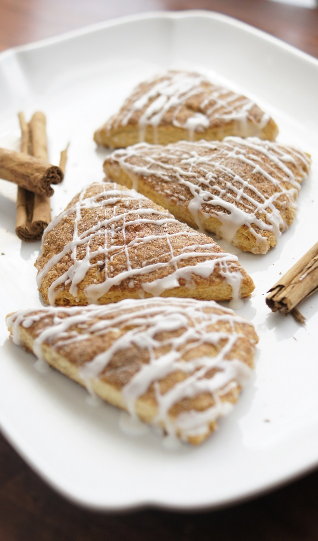 Delicious Cinnamon Scones Recipe. These are the best!