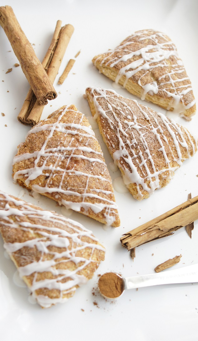 Delicious Cinnamon Scones. These are so yummy!