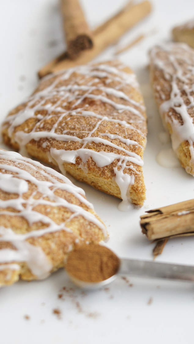 Delicious Cinnamon Scones. These are so yummy!!