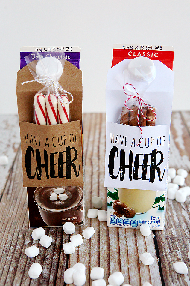 Have A Cup Of Cheer Gift Idea - Eighteen25