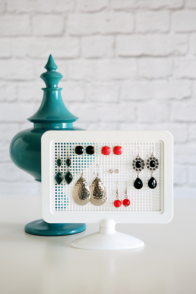 easy to make earring holder
