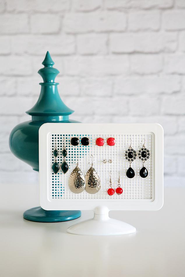 easy to make earring holder