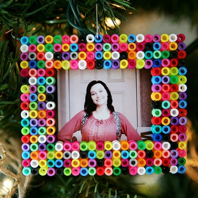 Perler Bead Christmas Ornaments