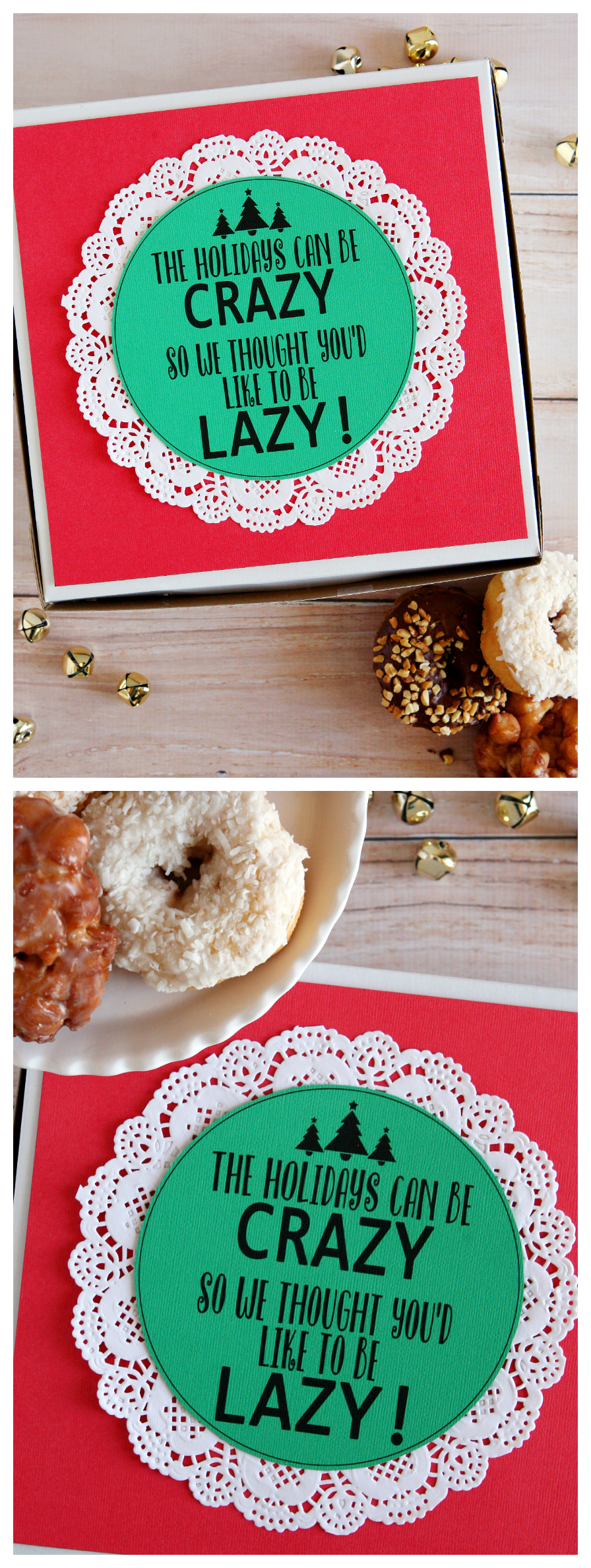 The Holiday Can Be Crazy Se Thought You'd Like To Be Lazy! | Christmas Neighbor Gift Idea