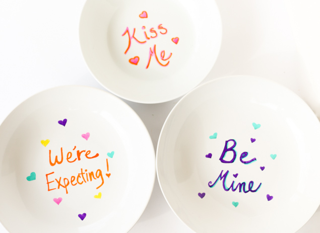 DIY Secret Message Bowls