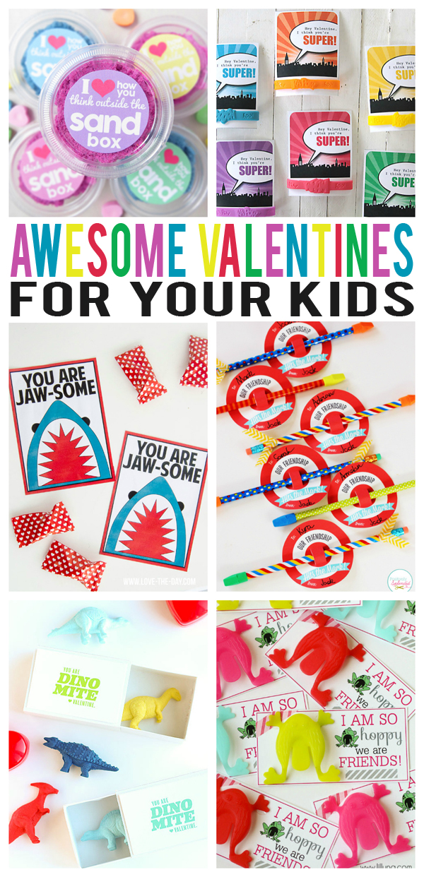 awesome kid valentines