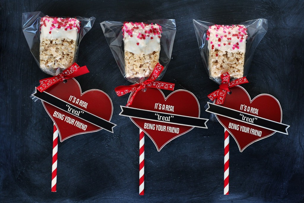 It's a Real Treat Being Your Friend | Kids Valentine Ideas