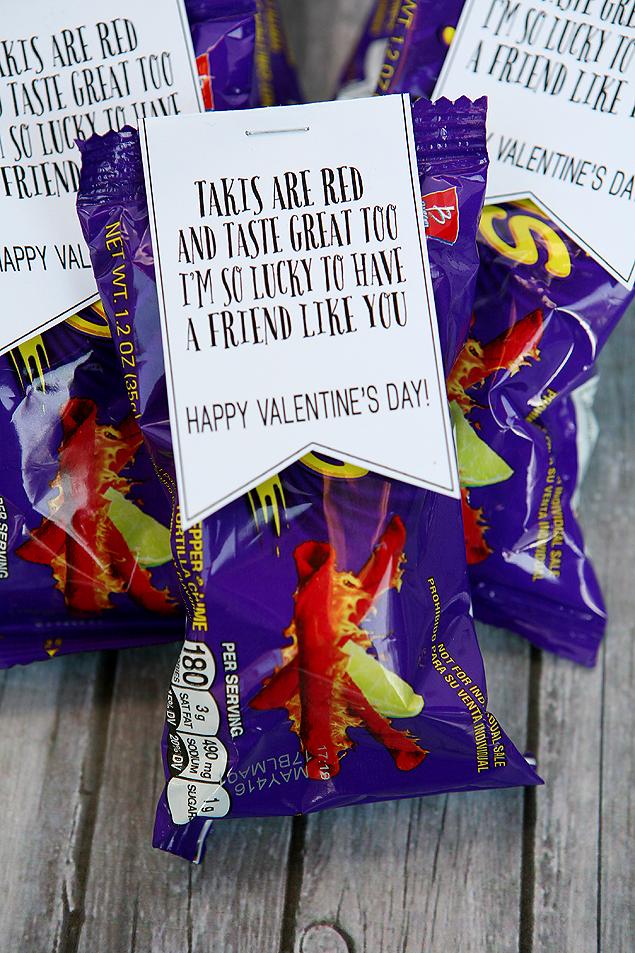 Taki Valentines for Kids. | Free printable Valentine ideas.