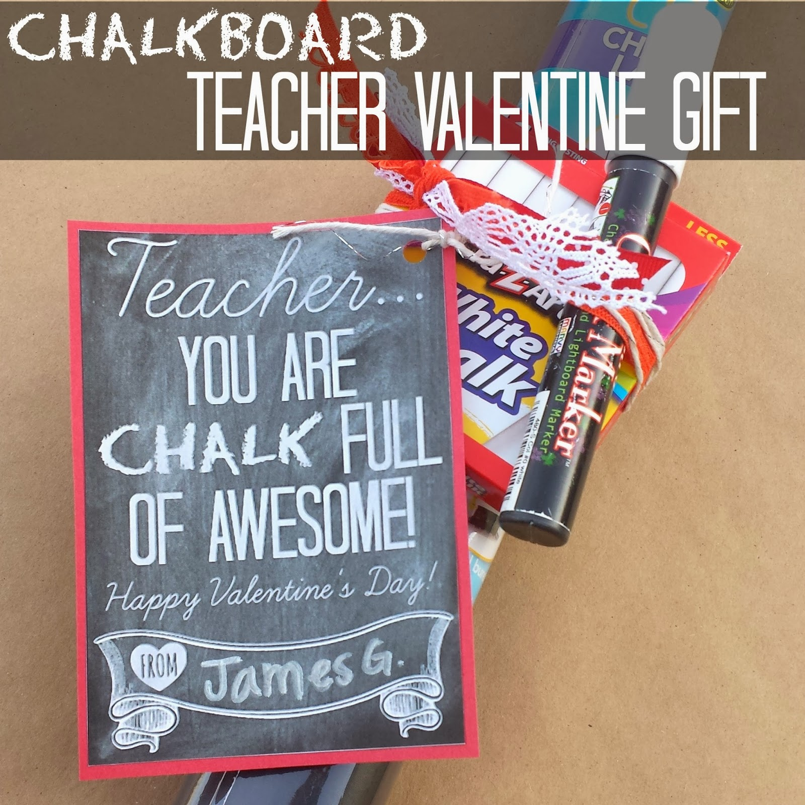 Valentine S Day Gifts For Teachers Eighteen25