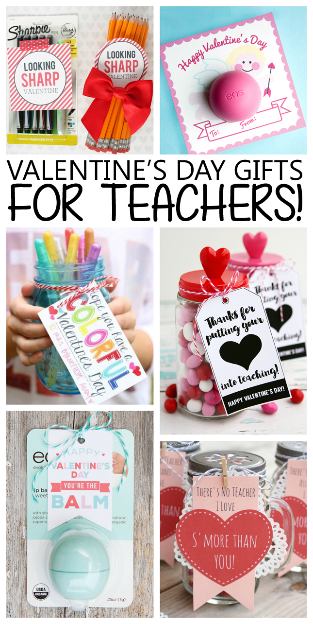 Valentineu0027s Day gift ideas for Teachers! | Teacher Valentines  sc 1 st  Eighteen25 & Valentineu0027s Day Gifts For Teachers - Eighteen25