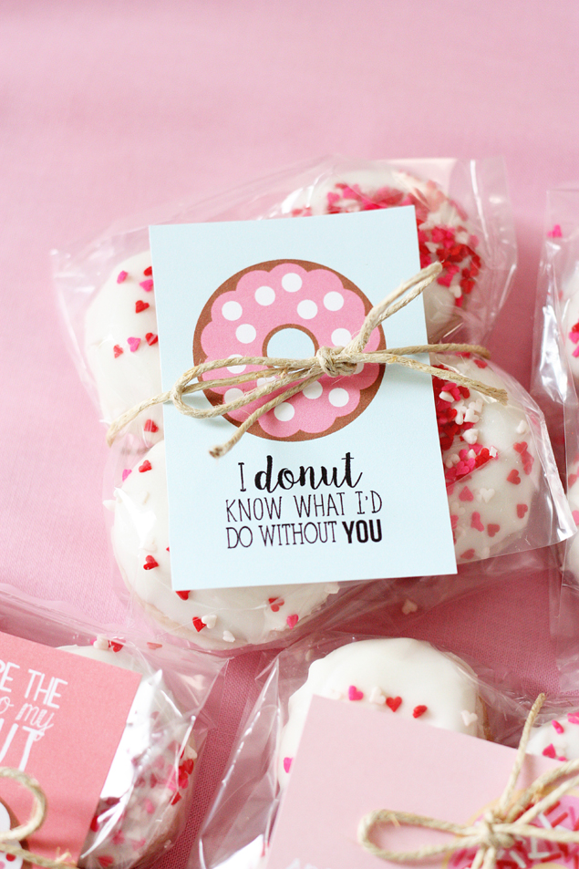 valentine donut printables | donuts, holidays and gift, Ideas