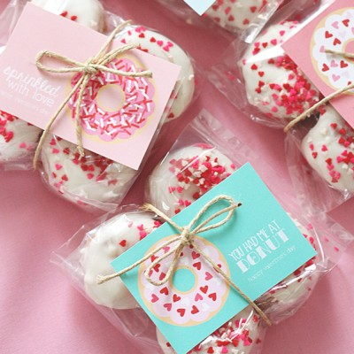 Valentine Donut Printables