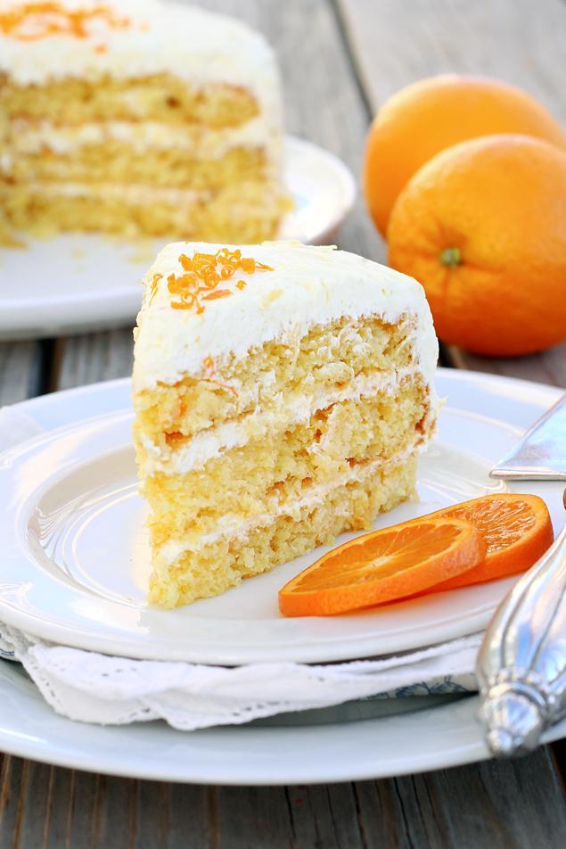 Easy Pineapple Orange Cake