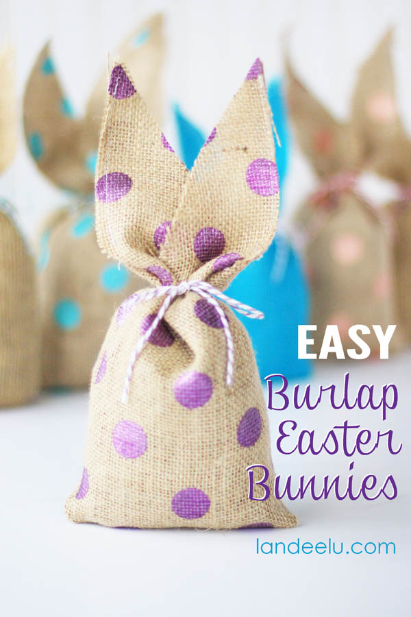 Fun easter bunny ideas eighteen25 easy burlap bunnies landeelu fun easter bunny ideas easter crafts treats printables and dinner ideas negle Choice Image