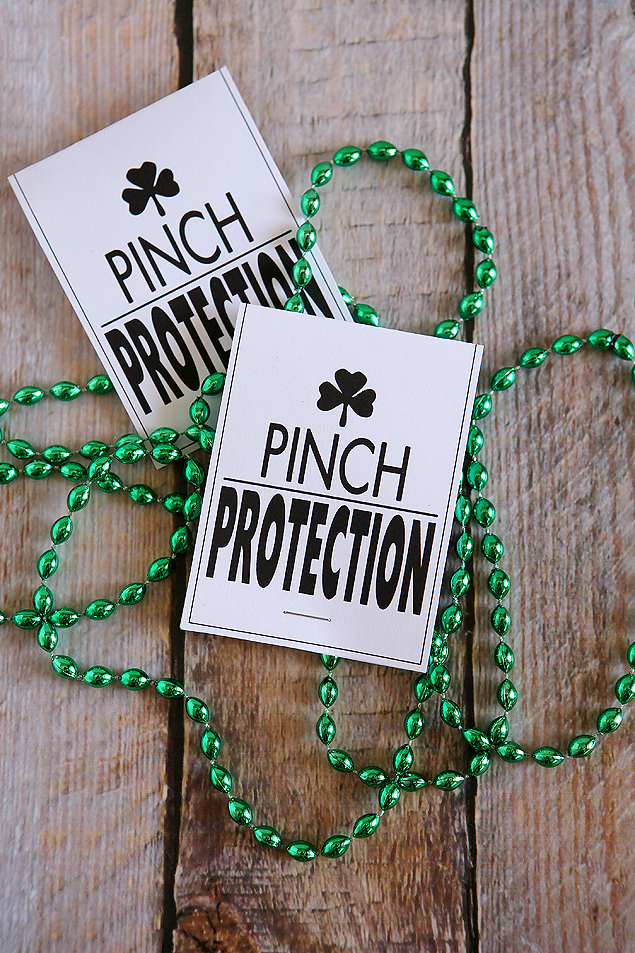 Pinch Protection Necklaces | St. Patrick's Day Gift Ideas