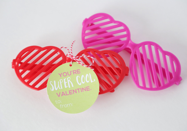 5 Dollar Store Valentines for Kids-With Printable Tags