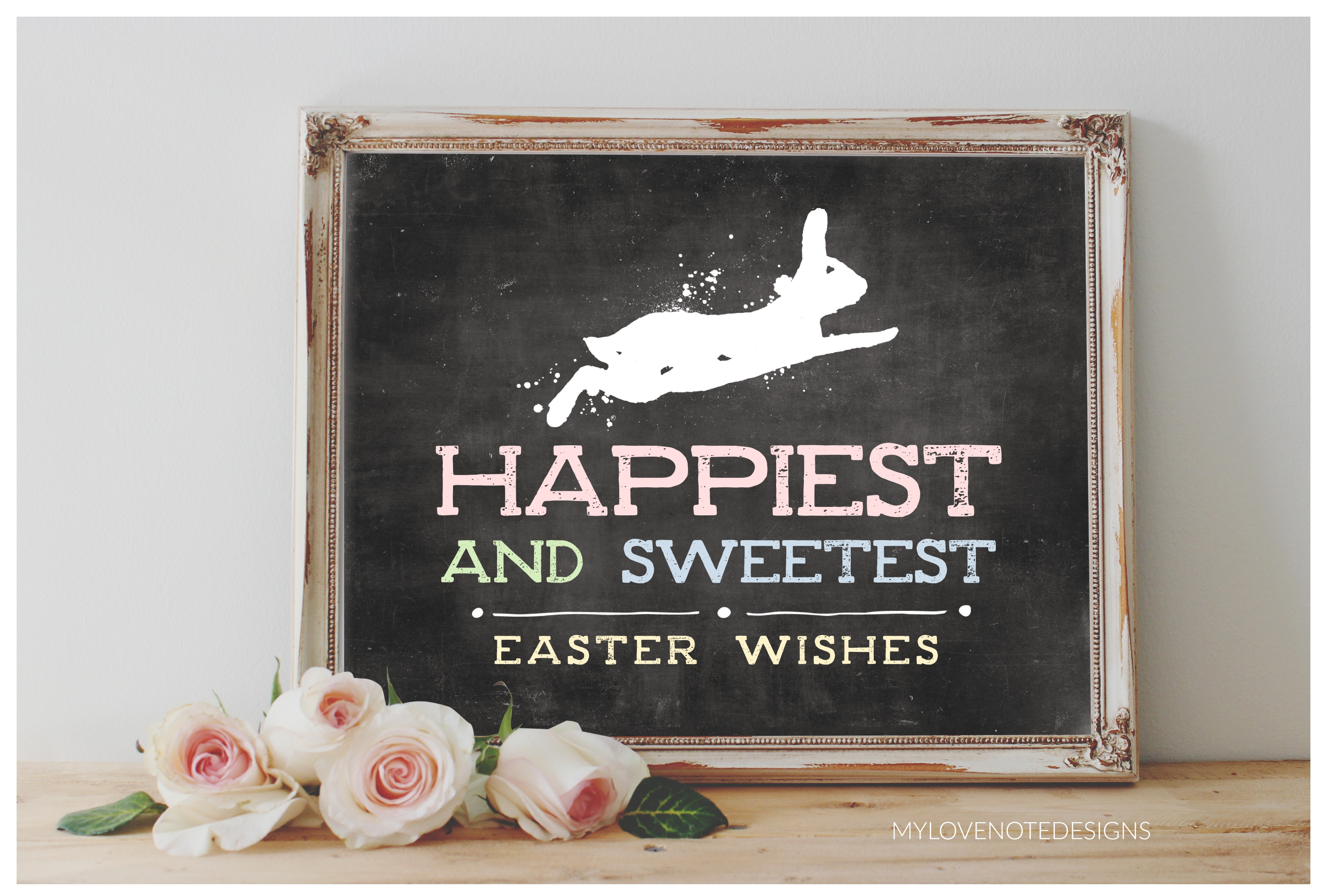 Happiest and Sweetest Easter Wishes | Free Printable Easter Pictures