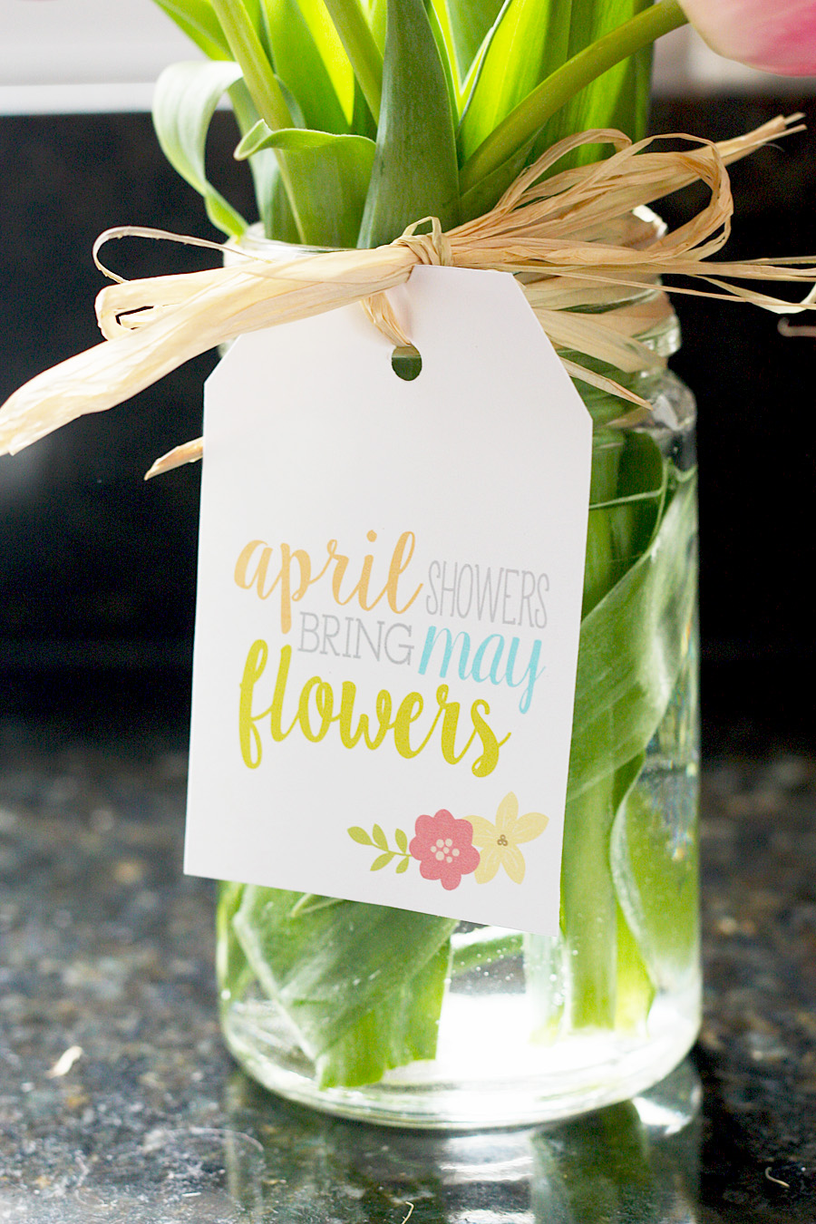Free Printable Spring Gift Tags | Gift Tag